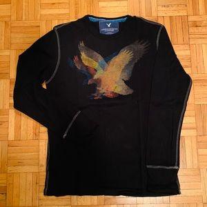 ⭐️2for$20⭐️American Eagle 3D logo long sleeve